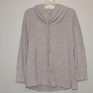 Sonoma Tan Cowl Neck Sweater M